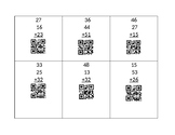 Add up to 4 two-digit Numbers with QR Codes