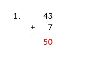 Add up to 6 digits to 1 digit (50 worksheets)