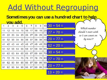 Add without Regrouping