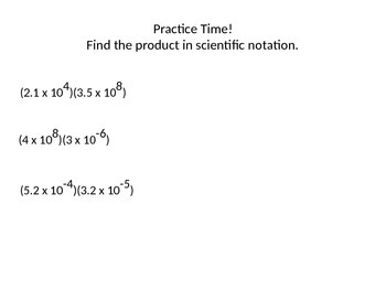 Add/Subtr/Mult/Divide numbers that are Scientific Notation