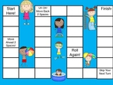 Add/Subtract 3-Digit Numbers Board Game