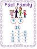 Clip Cards: Fact Family