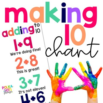 Addends of 10 Chant and Poster