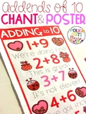 Addends of 10 Chant and Poster {Valentine's Day Edition}