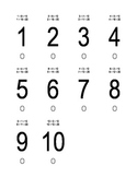 Addends to 10 and 20 - Practice Cards