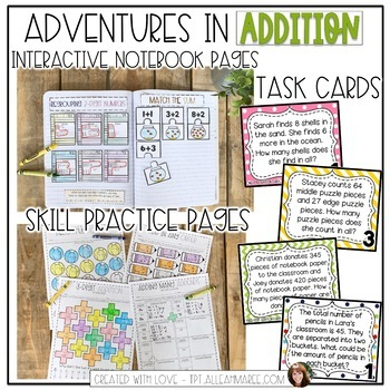 Addicted to Addition: Interactive Math Notebook