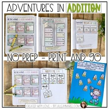 Adventures in Addition: Interactive Math Activities