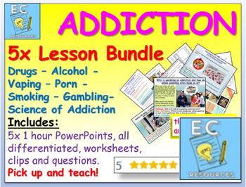 Addiction: Drugs + More!