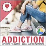 Addiction Lesson: Class Activities- Psychology of Drug / Alcohol Addiction, etc.