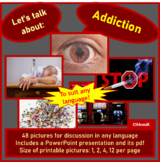 Addiction Picture cards for discussion