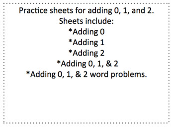 Adding 0, 1, and 2