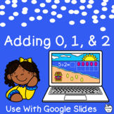 Adding 0, 1, and 2 Google Slides Math Activities ~ Additio