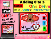 Adding 0 - 5 February Google Drive PowerPoint iPad Interactive Slides English