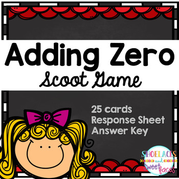 Adding Zero Scoot Game