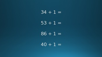Adding 1, 10, or 100 to a Number