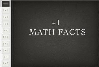 Adding 1 Math Fact Keynote