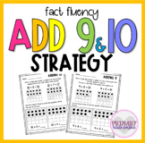 Adding 10 Adding 9 Worksheets Within 20 Math Fact Fluency