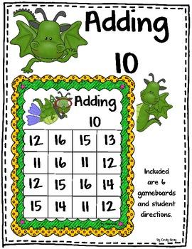 Adding 10 - Dragon Themed