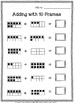 Adding 10 Frames Worksheets