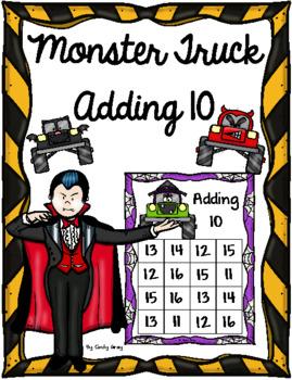 Adding 10 - Halloween Monster Trucks