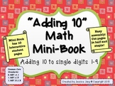 Adding 10 Math Mini-Book