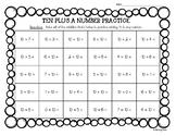 Adding 10 Plus A Number Practice Worksheet - Mental Math