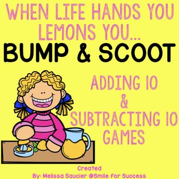 Adding 10 & Subtracting 10 {BUMP & SCOOT}