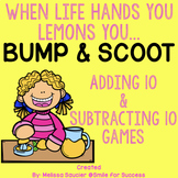 Adding 10 and Subtracting 10 | 3 Games Included