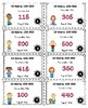 Add 10 Math Center Game (Using Numbers 100-500)