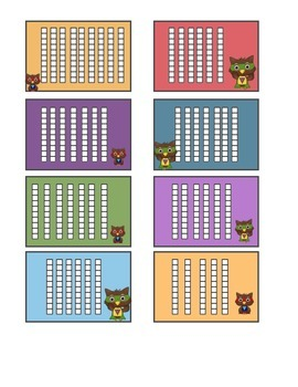 Adding 10's Using Base 10 Blocks