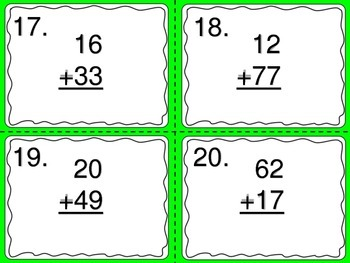 Adding 2, 3, and 4 Digit Numbers Without Regrouping