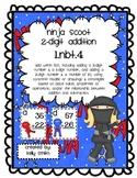Adding 2 Digit Numbers Little Ninja Scoot Game