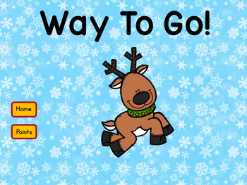 Adding 2 Digit Numbers Reindeer Theme Interactive Self-Correcting PowerPoint
