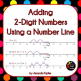 Adding 2-Digit Numbers Using a Number Line