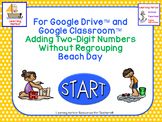 Adding 2 Digit Numbers Without Regrouping Beach Kids