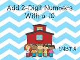 Adding 2 Digit Numbers With 10's