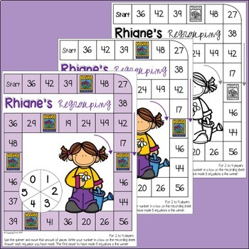 Addition - 2 Digit Numbers (with regrouping)