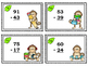 Adding and Subtracting 2-Digit Numbers - 96 Task Cards!