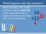 Adding 2- and 3-digit numbers