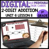 Adding 2-digit Numbers | DIGITAL TASK CARDS | PRINTABLE TA