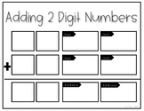 Adding 2-digit Numbers Template