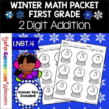 Adding 2 digit numbers by 1 and 10 ~ 1.NBT.4