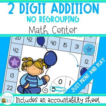 2 Digit Numbers without regrouping