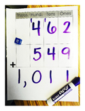 Adding 3 - 4 Digit Numbers (Place Value)