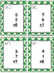 Adding 3 Addends Task Cards & Game (St. Patrick's Day)