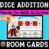 Adding 3 Dice Boom Cards Digital Dice Game