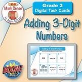 Adding 3-Digit Numbers: BOOM Digital Task Cards 3B12