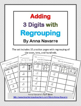 Adding 3 Digits with Regrouping