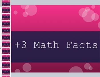 Adding 3 Math Fact Keynote