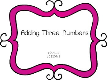 Adding 3 Numbers